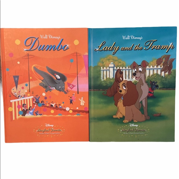 Disney Collectable Hardcover Story Books Bundle